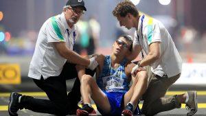 abandon marathon qatar