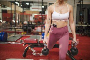 préparation physique en salle de sport