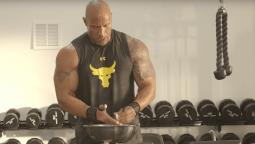 programme d'entraînement de Dwayne Johnson